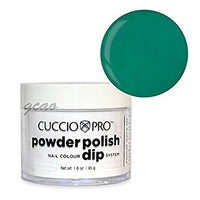Cuccio Powder Polish 1.6oz Jade Green, 5541