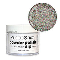 Cuccio Powder Polish 1.6oz Multicolor Glitter, 5530