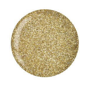 Cuccio Powder Polish 1.6oz Rich Gold Glitter, 5558