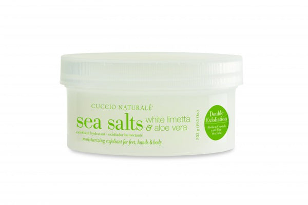Cuccio Sea Salts White Limetta & Aloe Vera 19.5oz, 3340
