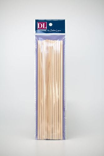 "DL Pro Orange Wood Sticks 7"" Pk Of 12, DL-C75"