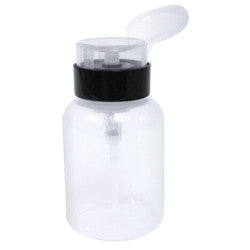 DL Pro 4oz Clear Pump Dispenser Bottle, DL-C161
