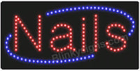 Fantasea LED 'Nails' Sign