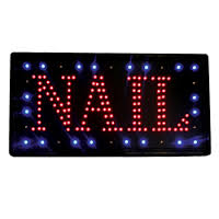 FANTASEA LED 'NAIL' Sign (Lg Font)
