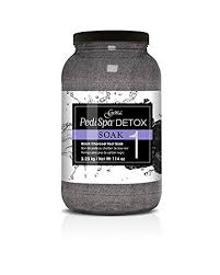 Gena Pedi Spa Charcoal Soak 114oz, GE04074