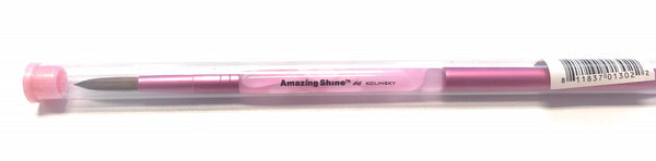 Amazing Shine Nail Brush Kolinsky #6, AS-302