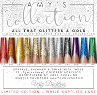"UGLY DUCKLING ""ALL THAT GLITTERS & GOLD"" - AMY'S COLORED ACRYLIC COLLECTION"