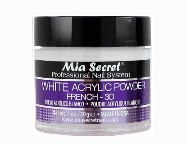 MIA SECRET WHITE ACRYLIC POWDER