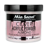 MIA SECRET COVER ALMOND ACRYLIC POWDER