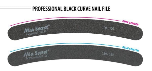 MIA SECRET BLACK NAIL FILE