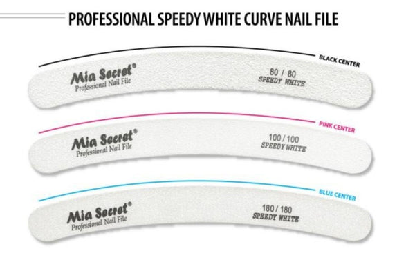 MIA SECRET SPEEDY WHITE NAIL FILE