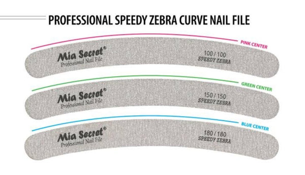 MIA SECRET SPEEDY ZEBRA NAIL FILE