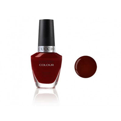 Cuccio Colour Nail Polish Red Eye to Shanghai, 6025