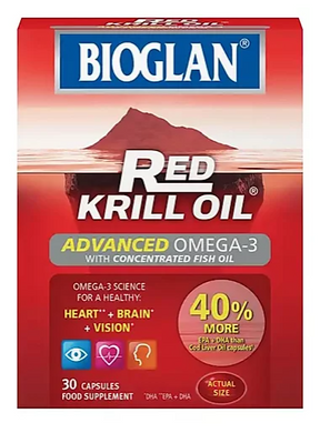 Bioglan Red Krill Oil Advanced Omega-3 (30 Capsules)
