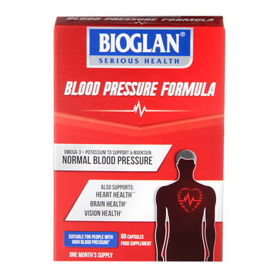 Bioglan High Blood Pressure Formula (60 Capsules)