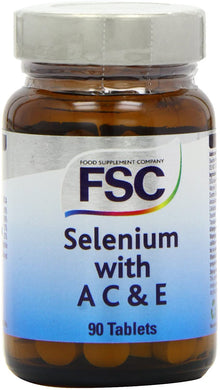 FSC Selenium with A C & E Tablets