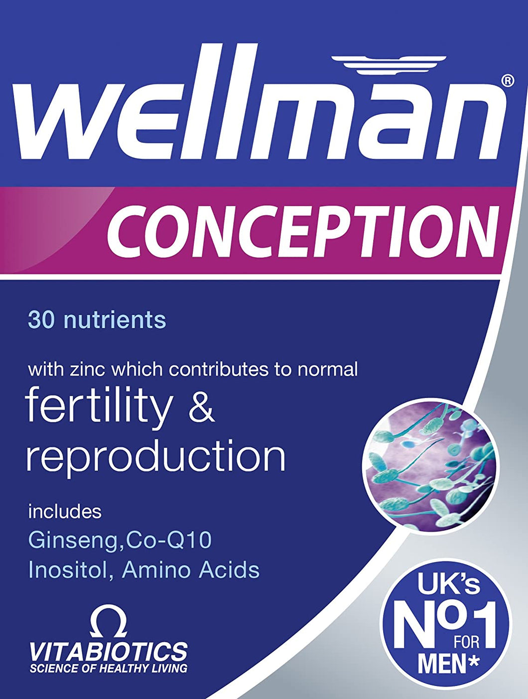 Vitabiotics Wellman Conception Tablets