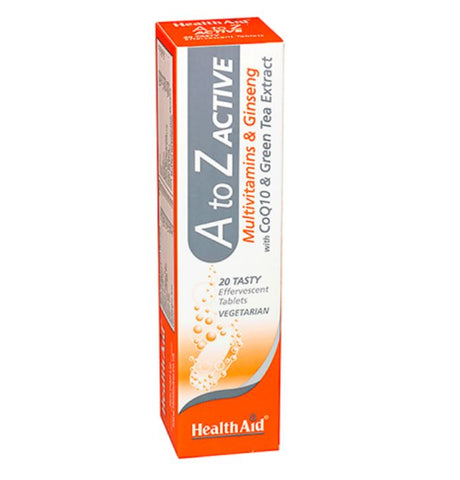 HealthAid A to Z Active Effervescent Tablets