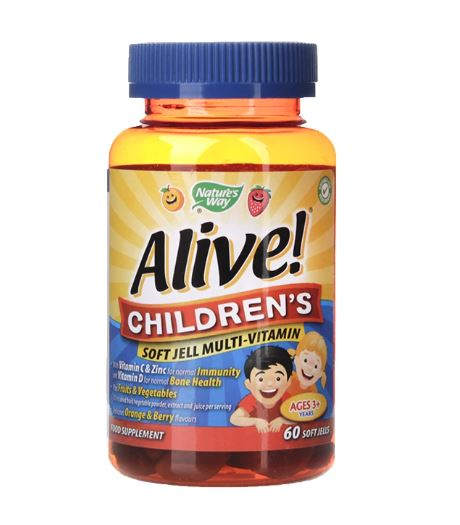 Natures Way Alive! Children's Softgel Multivitamin Soft Gels