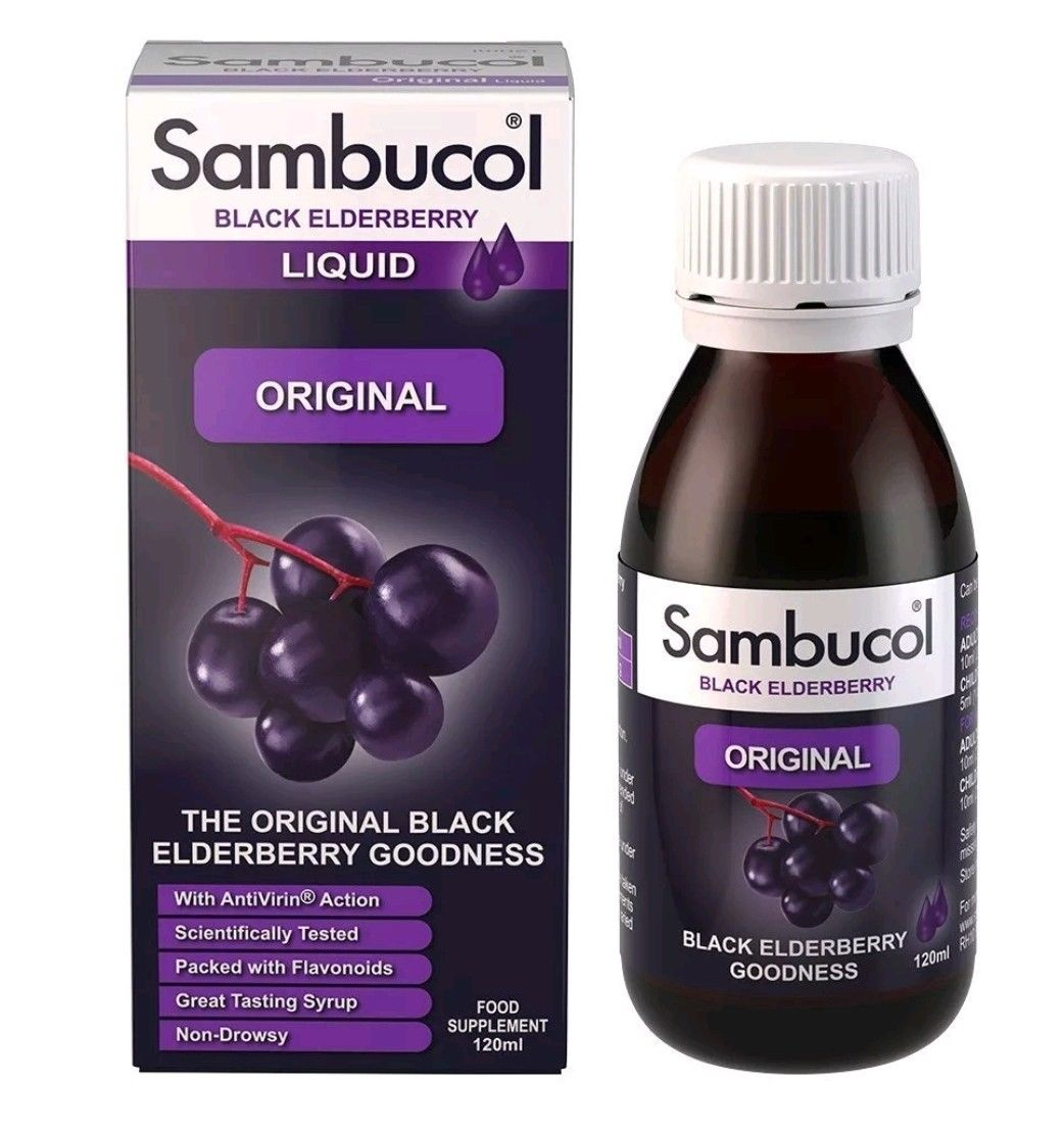 Sambucol Original Syrup (120ml)