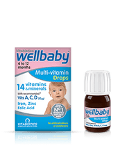 Vitabiotics Wellbaby Multivitamin Drops