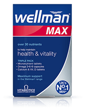 Vitabiotics Wellman Max Tablets & Capsules
