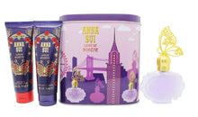 Anna Sui La Vie de Boheme Gift Set 50ml EDT + 100ml Body Lotion + 100ml Shower Gel + Music Box