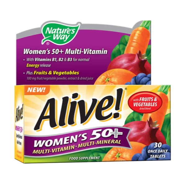 Natures Way Alive! Women's Multi-Vitamin and Mineral (50+)
