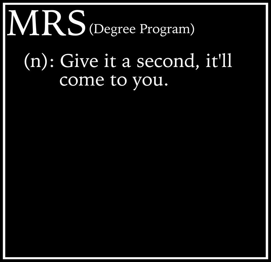 Seminary Gear Unisex MRS Degree Tee