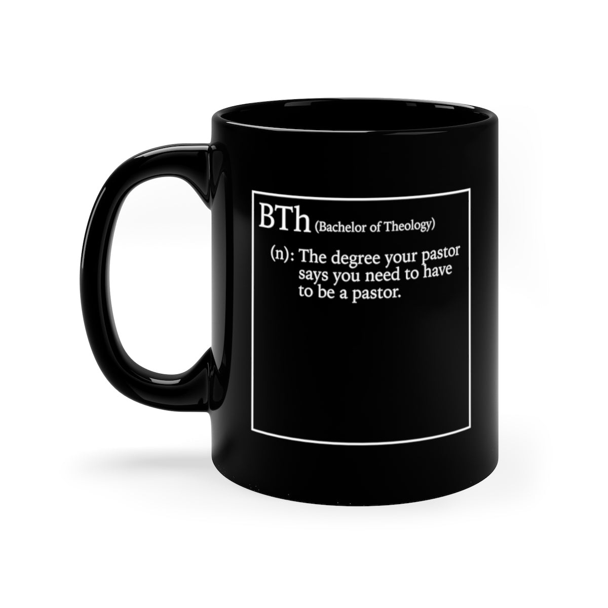Bold Cup Mug Shop Bachelor Seminary Gear Bth Small