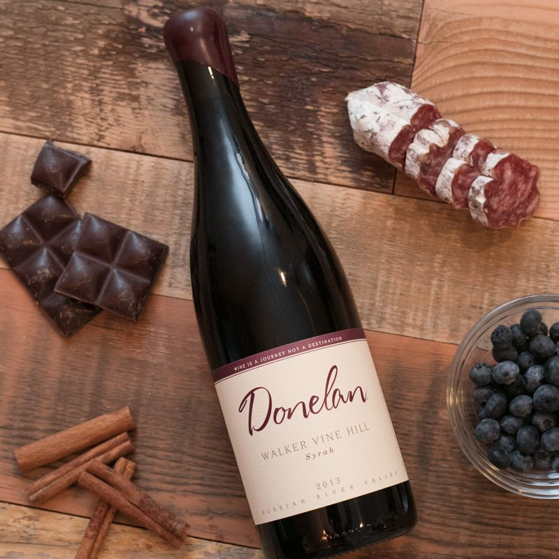 Donelan Walker Vine Hill Syrah 2013 750 ML