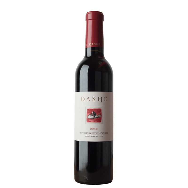 Dashe Cellars Lily Hill Vineyard Late Harvest Zinfandel Sonoma 2015 375ML