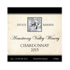 Armstrong Valley Winery Estate Reserve Oak Chardonnay 2015 750ML