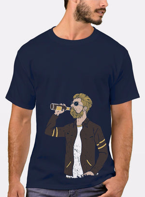 Drunk Guy - T-Shirt For Men