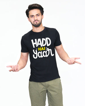 Hadd Hai Yaar - T-Shirt for Men