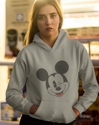 Mickey Mouse Wink Hoodie