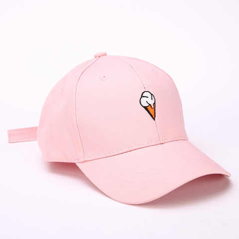 Pink Ice Cream Cap Unisex