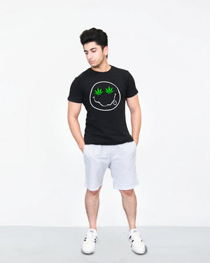 Stoned Smiley - T-Shirt for Men
