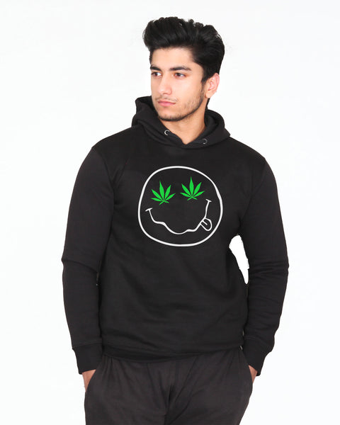 Stoned Smiley Hoodie