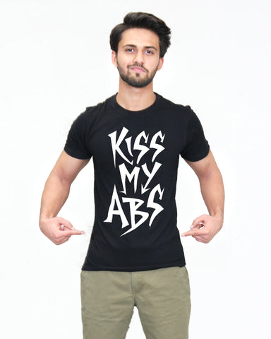 Kiss My Abs - T-Shirt for Men