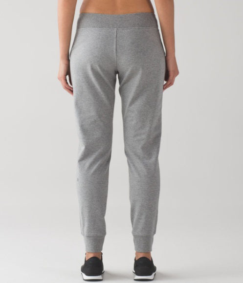 Heathered Grey Trouser