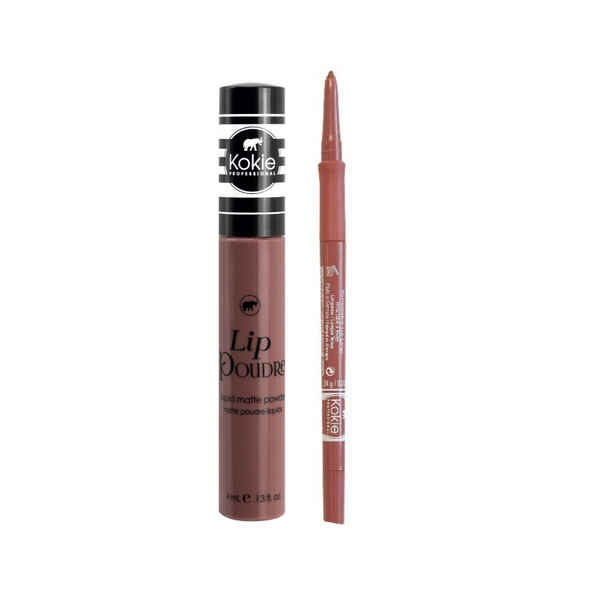 MID NUDE LIP SET