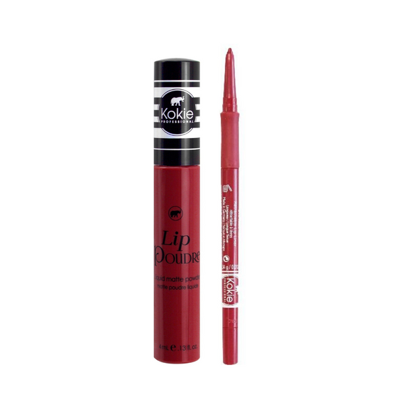 RED HOLIDAY LIP SET