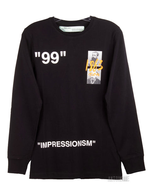 Off-White Black Summer 1863 Impressionism Long-Sleeve Shirt