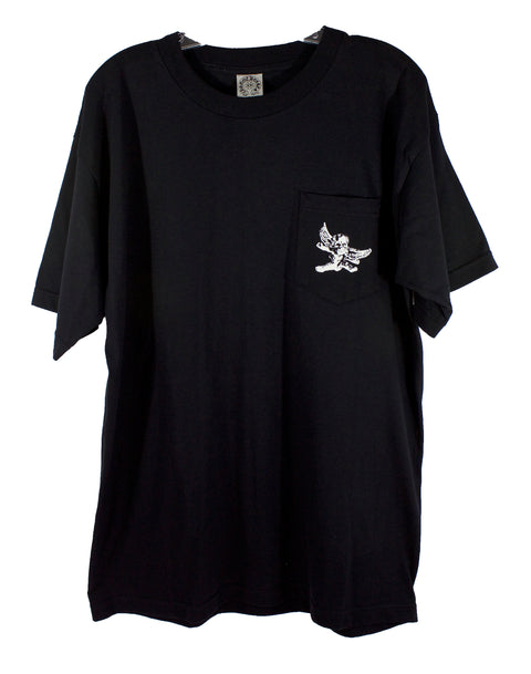 Chrome Hearts x Foti Black Pocket T-Shirt