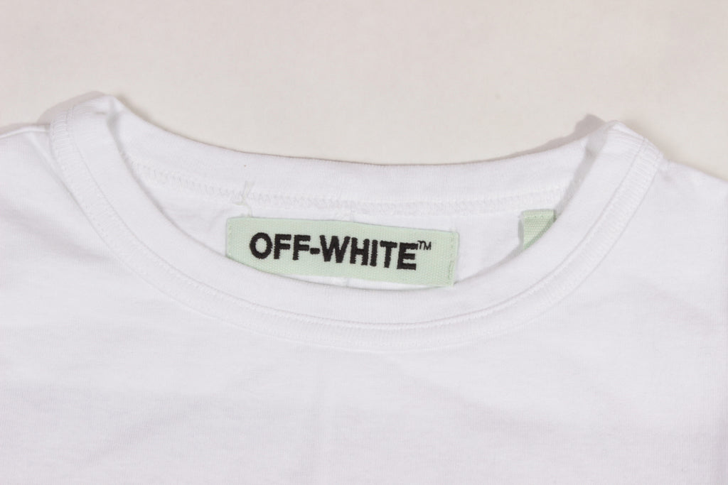 Off-White White Yellow Caravaggio T-Shirt