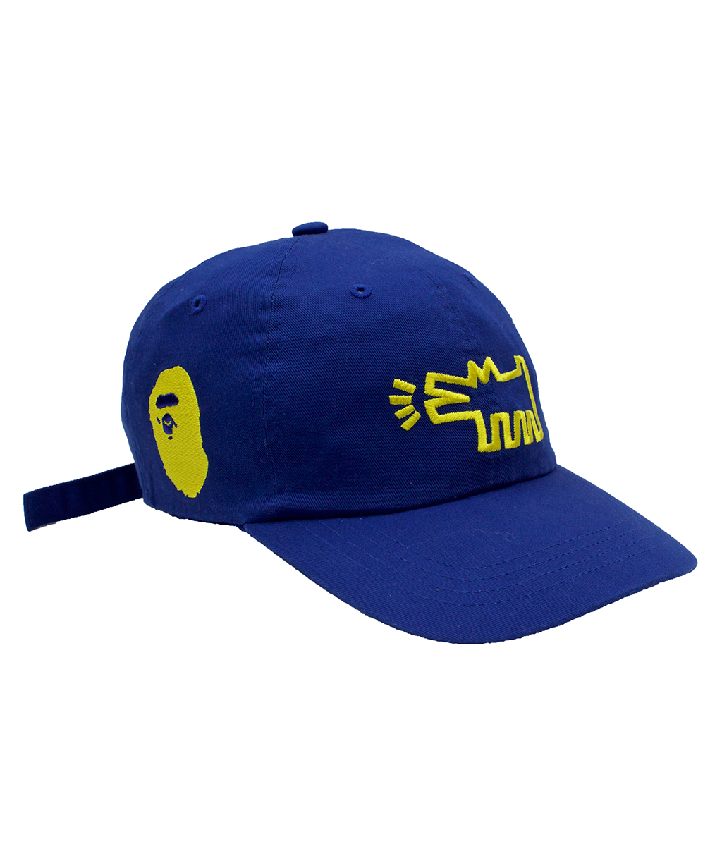 A Bathing Ape x Keith Haring Blue Strapback Hat – Antoinette Boutique 3017a5cc66b