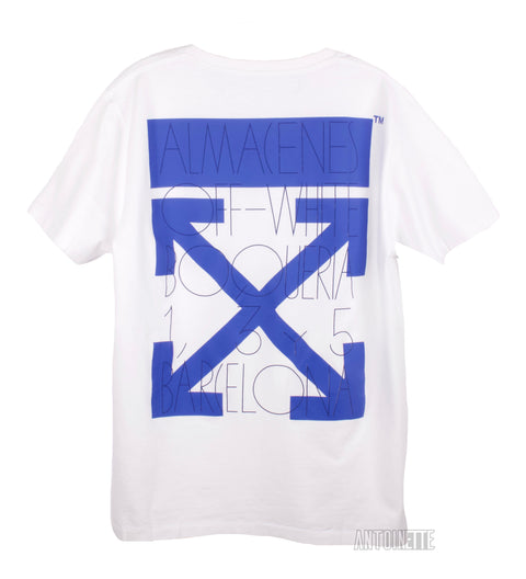Off-White Santa Eulalia Exclusive White T-Shirt