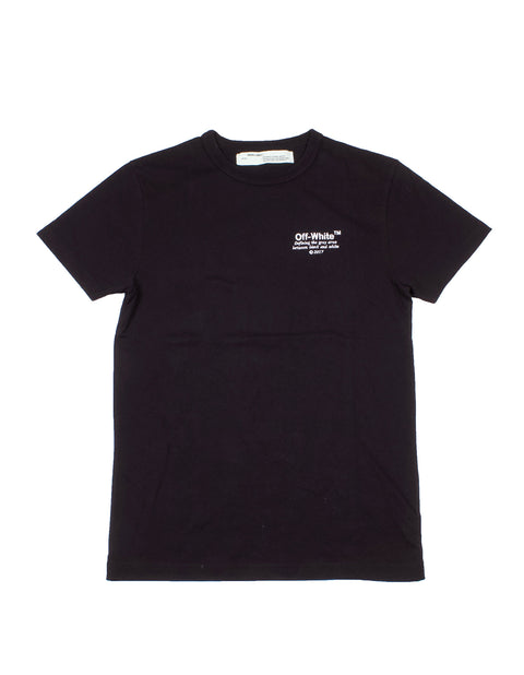 Off-White Black Embroidered Logo T-Shirt