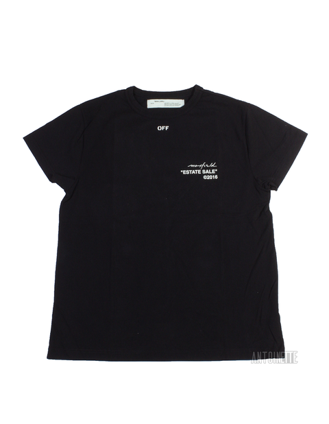 Off-White Black Estate Sale Maxfield Exclusive T-Shirt